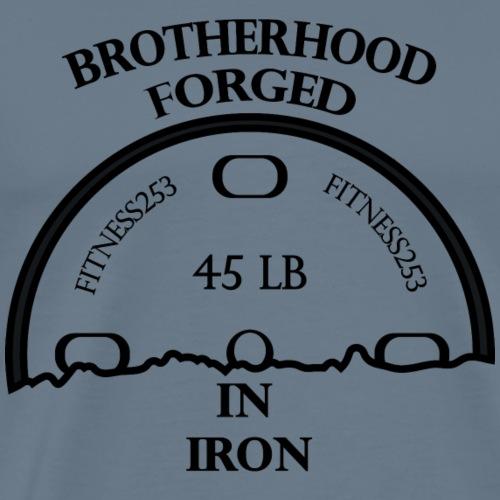 Brotherhood Forged In Iron - Men's Premium T-Shirt