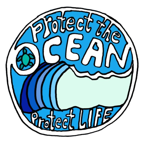 Protect The Ocean - Men's Premium T-Shirt