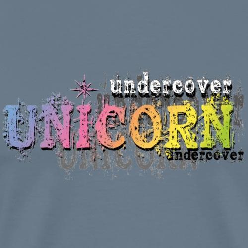 Undercover Unicorn - Men's Premium T-Shirt