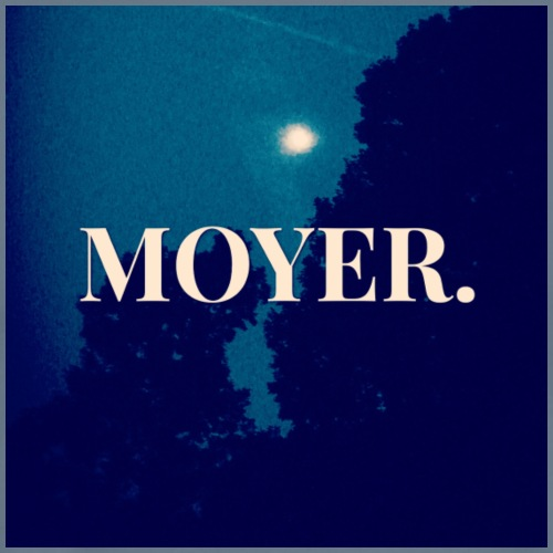 MOYER. - Moon Light - Men's Premium T-Shirt