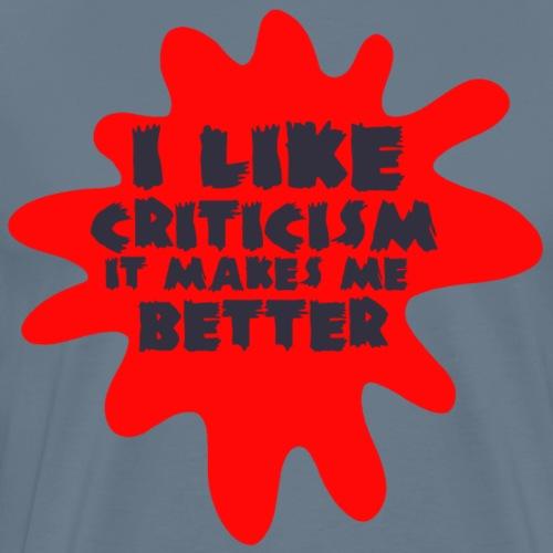 Critic black - Men's Premium T-Shirt