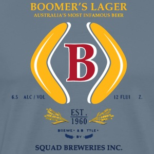 Boomer s Squad Breweries - Men's Premium T-Shirt