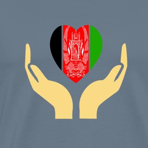 I love Afghanistan - Men's Premium T-Shirt