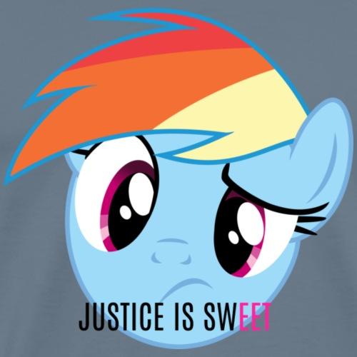 Justice Is Sweet - Men's Premium T-Shirt
