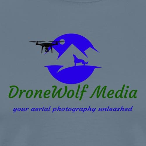 main dronewolf media logo - Men's Premium T-Shirt