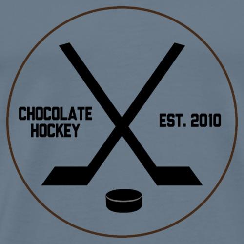 Chocolate Hockey Established 2010 - Men's Premium T-Shirt