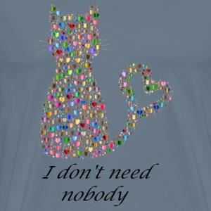 Isle of loving Cat - Men's Premium T-Shirt