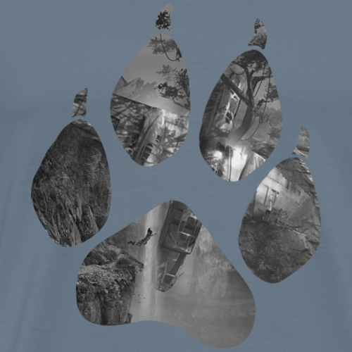 Lara Croft - Cliff - Men's Premium T-Shirt