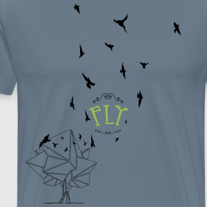Feel free to fly - Men's Premium T-Shirt