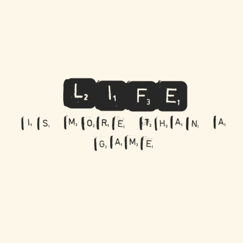 Life Is More Than A Game - Men's Premium T-Shirt
