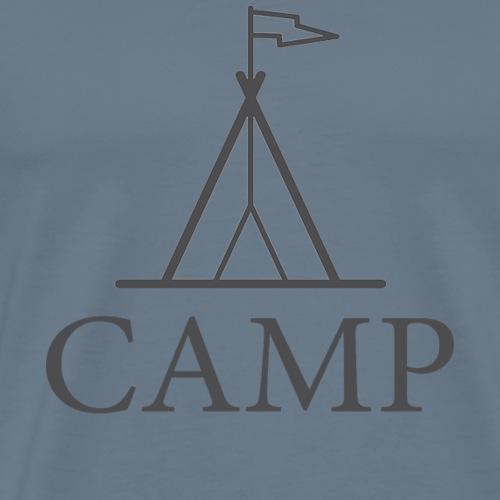 Tent Camp - Men's Premium T-Shirt