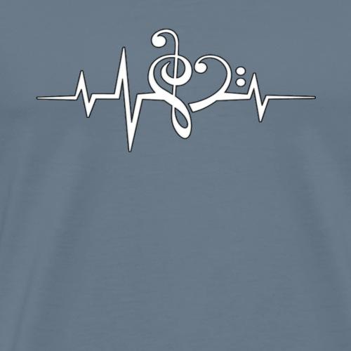 Music is Life - Men's Premium T-Shirt
