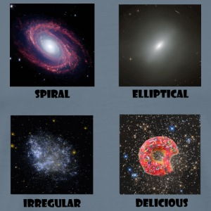 types of Galaxies - Men's Premium T-Shirt