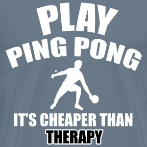 ping pong designs - Men's Premium T-Shirt