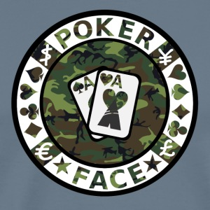 POKER FACE - Men's Premium T-Shirt