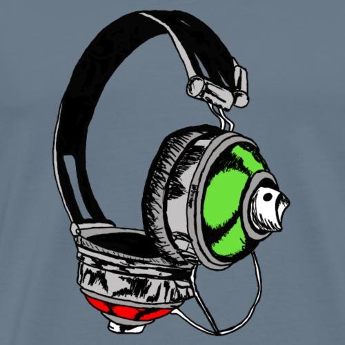 Music & Graffiti - Men's Premium T-Shirt