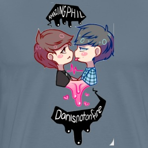 dhan and phil - Men's Premium T-Shirt