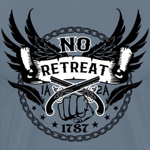No Retreat - Constitution - Men's Premium T-Shirt