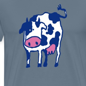 Holstein Cow Breed Artwork - Men's Premium T-Shirt