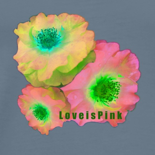 Pink_Love_SS_2 - Men's Premium T-Shirt