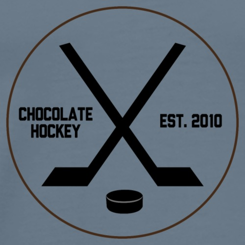 Chocolate Hockey Established 2010 - Men's Premium T-Shirt