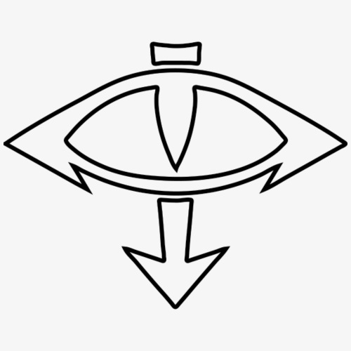Eye of Horus - Transparent - Men's Premium T-Shirt