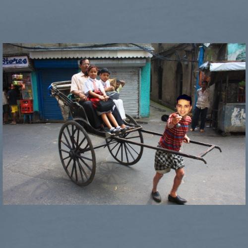 rickshaw - Men's Premium T-Shirt