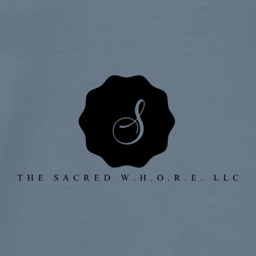 The Sacred W.H.O.R.E. LLC (Logo5) - Men's Premium T-Shirt