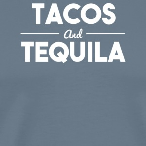 Tacos and tequila - Men's Premium T-Shirt