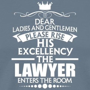 LAWYER - EXCELLENCY - Men's Premium T-Shirt
