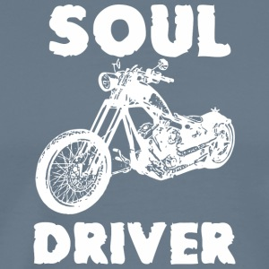 Motorcycle SOUL DRIVER - Men's Premium T-Shirt