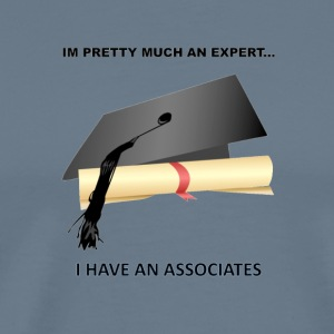 expert with degree - Men's Premium T-Shirt