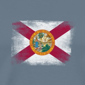 Florida State Flag Distressed Vintage - Men's Premium T-Shirt