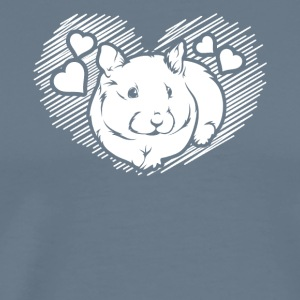 Love Hamster Shirts - Men's Premium T-Shirt