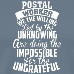 Postal Worker T Shirt - Men's Premium T-Shirt