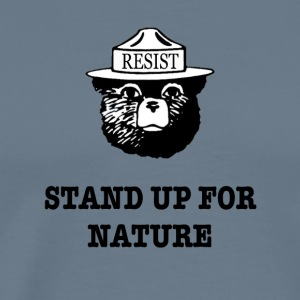 Resist Anti Trump Environmental Tee Shirt - Men's Premium T-Shirt