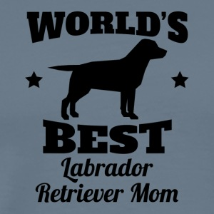 World's Best Labrador Retriever Mom - Men's Premium T-Shirt