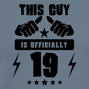 This Guy Is Officially 19 - Men's Premium T-Shirt
