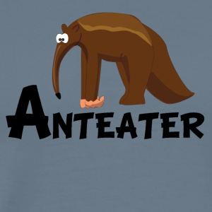 Cartoon Anteater - Men's Premium T-Shirt