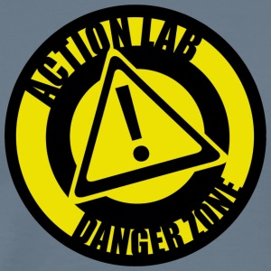 actionlabdangerzonelogo copy - Men's Premium T-Shirt
