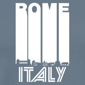 Retro Rome Skyline - Men's Premium T-Shirt