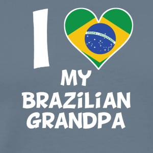 I Heart My Brazilian Grandpa - Men's Premium T-Shirt