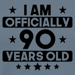 I Am Officially 90 Years Old 90th Birthday - Men's Premium T-Shirt
