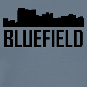Bluefield West Virginia City Skyline - Men's Premium T-Shirt