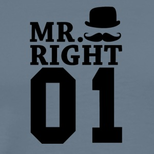 Mr Right 01 - Men's Premium T-Shirt