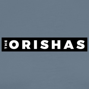 The Orishas (White Letters/Black Border) - Men's Premium T-Shirt