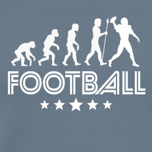 Retro Football Evolution - Men's Premium T-Shirt