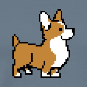 Brown Corgi - Men's Premium T-Shirt