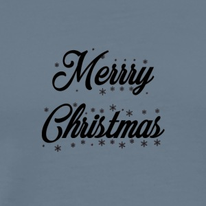 Merry_Christmas_-_slogan_black - Men's Premium T-Shirt