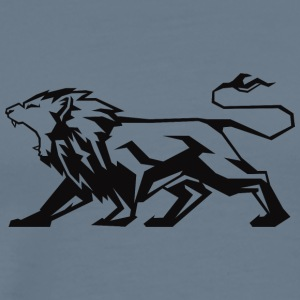 attacking_lion - Men's Premium T-Shirt